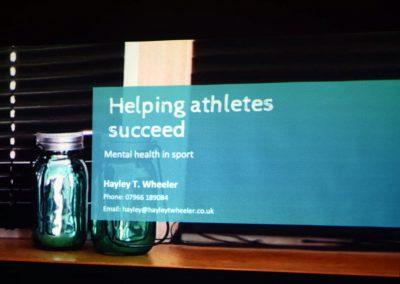 Helping Athletes Succeed slide